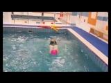 Sit Up в воде))) Aqua aerobics.