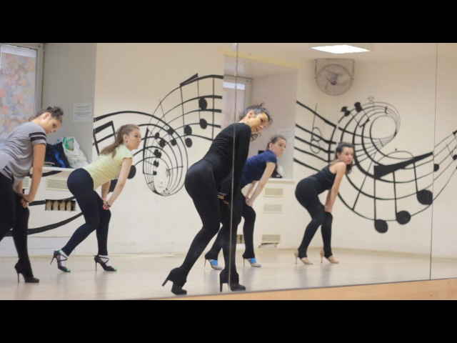 On-line урок по танцам Go-go | Sexy RNB | High Heels Inna Apolonskaya Beyonce - Back Up