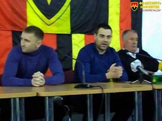 Владимир Цикура о выступлении команды в первом круге