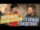 Les Animaux Fantastiques interview magique avec Eddie Redmayne &amp Katherine Waterston