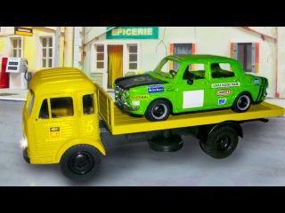 Der Gelbe Abschleppwagen - Lernen und bauen - Lehrreicher Zeichentrickfilm für Kinder