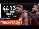 Throwback: LeBron James NASTY Highlights vs Trail Blazers (2011.01.09) - 44 Pts, 13 Reb, CLUTCH!