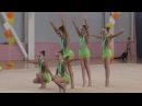 Художественная гимнастика ВЕСЕННИЕ КРАСКИ Ассорти 2006-2007г.р. групповые упражне