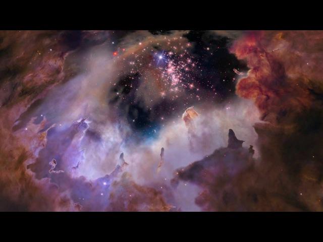 Небесные ФейерверкиЗвездное скопление Вестерлунд 2Celestial Fireworks star cluster Westerlund 2