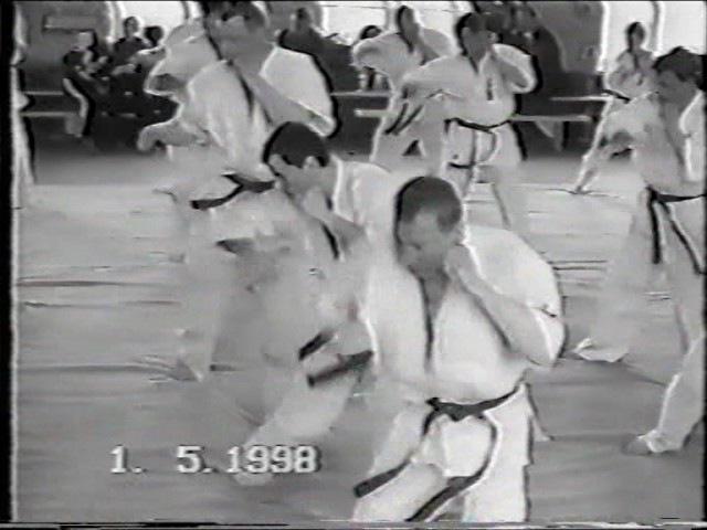 Экзамены по КУДО с Азума Такаси 01.05.98. Владивосток