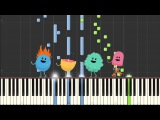 Dumb Ways To Die   Alan Arrangement   Piano   Synthesia