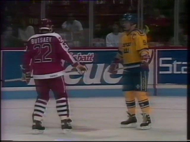1991 год. Кубок Канады, СССР-Швеция (комм. Е.Майоров)