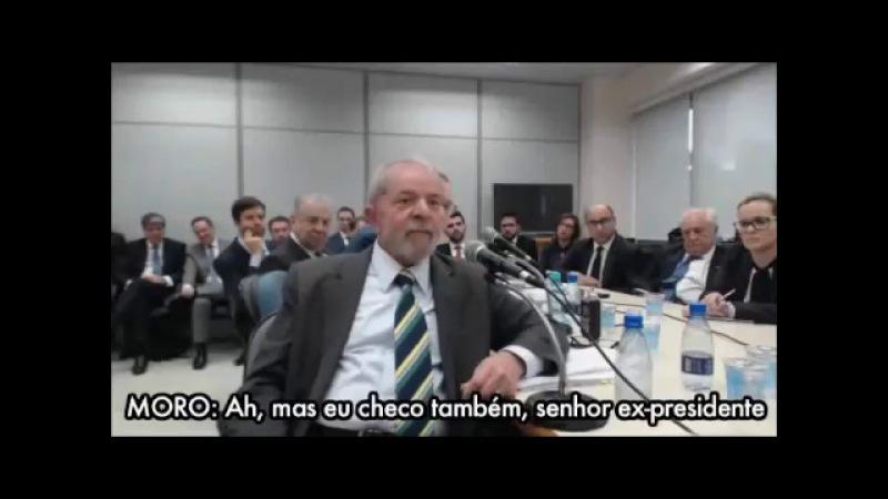 Moro destrói comparação de Lula entre ladrões e filhos