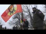 Вручение знамени батальону им.Александра Невского