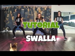 Tutorial - Swalla - Jason Derulo ft Nicki Minaj - Saskia's Dansschool - Easy Fitness Dance