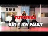 Tutorial - Ain't my Fault - Zara Larsson - Saskia's Dansschool - Easy Fitness Dance
