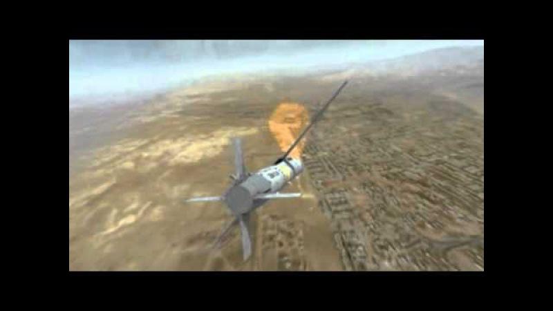 F-15E Drops a Raytheon SDB II (Small Diameter Bomb)