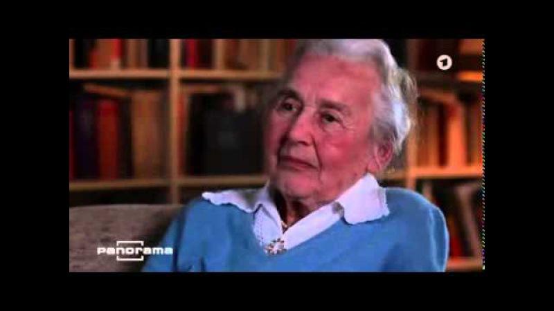 Ursula Haverbeck - Panorama Interview März 2015