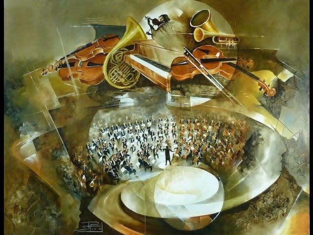 Тонкая философия живописи Роже Сюро ( ROGER SURAUD ), музыка Габриэль Форе