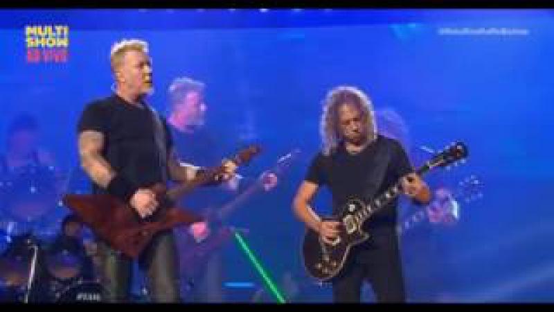 Metallica Nothing Else Matters Lollapalooza 2017 São Paulo Brazil HD LIVE 3 25 2017