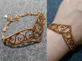 Bracelets inspired by Sailor Moon manga - making wire wrap jewelry 13