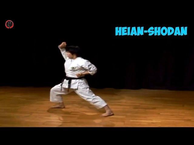 Kata Karate Shotokan JKS - Heian-Shodan - Masao Kagawa