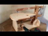 Making a Homemade Scroll Saw (Drill Powered) - El Yapımı Kıl Testere Makinası