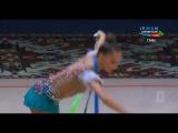 Арина Аверина - лента (многобрье) // Этап Кубка Мира 2017, Баку