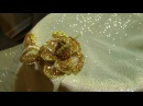 Hand Embroidery: Brooch   Вышивка: Брошь