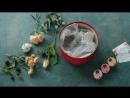 Коробочка с цветами от SISTERS