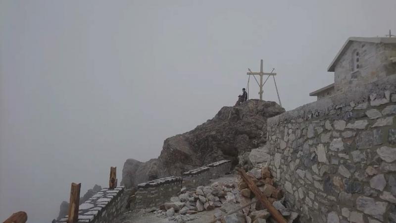 На вершине Святой Горы