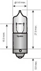 Лампа накаливания, задний гарабитный огонь; Лампа накаливания, внутренее освещение; Лампа накаливания, стояночные огни / габаритные фонари; Лампа, лампа чтения для BMW Z8 (E52)