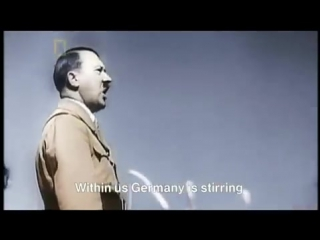 Adolf Hitler Speech (In Colour)