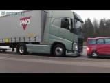Тормозная система Volvo vs 40 тонн груза.