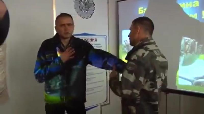 солдат АТО підарас