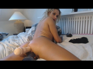 anal dildo while talking dirty