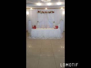 свадебное оформление в белом цвете омск