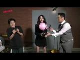 [FANCAM] 170920 T-ara Soribada Awards - Jiyeon Backstage Game