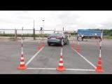 Как будет проходить экзамен на автодроме