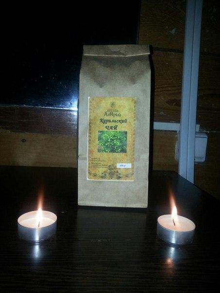 Курильский чай с горного Алтая) 100 гр