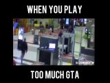 Когда переиграл в GTA