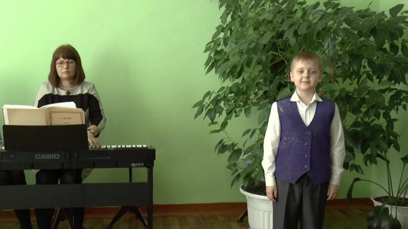 Сливницын Александр и Киреева Татьяна,ДШИ №1,Шумерля