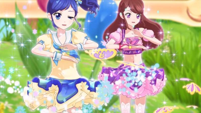 Aikatsu Episode 28 G Senjou no Shining Sky Kanzaki Mizuki Hoshimiya Ichigo Kiriya Aoi Shibuki Ran 1080p