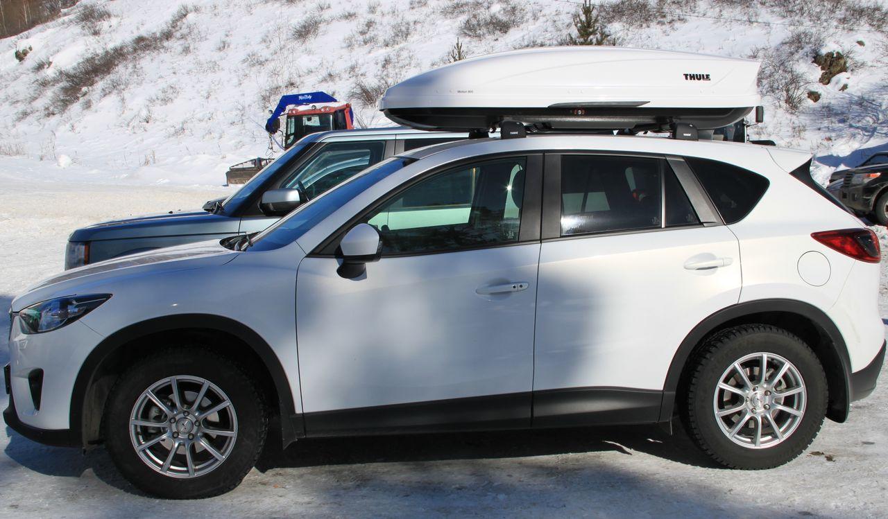 Багажник и бокс на крышу Mazda CX 5