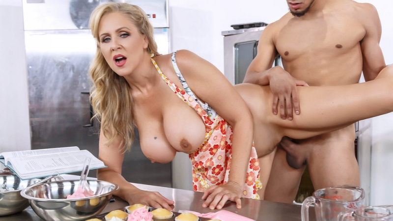 Julia Ann Glazed and Cumfused Big Tits Worship Blonde MILF Thick Tittyfuck POV HD Porn