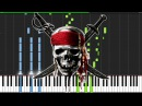 Pirates of the Caribbean Medley [Piano Tutorial] (Synthesia) Nikodem Lorenz