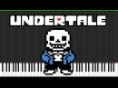 Undertale Boss Theme Medley [Piano Tutorial] (Synthesia) JG-77