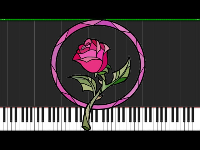Prologue - Beauty and the Beast [Piano Tutorial] (Synthesia) Nadav Schneider