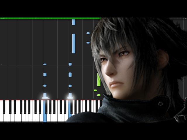 Valse di Fantastica - Final Fantasy XV [Piano Tutorial] (Synthesia) Fontenele NXT