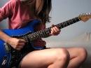 Девушки-гитаристки. Исполняют хиты всех времен. Супер.