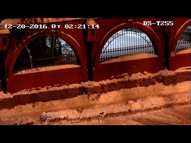 DS-T255 Уличная TVI PTZ поворотная камера Ночь