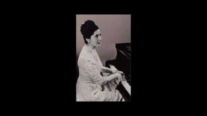 Mozart Fantasia in C minor K 396 Lili Kraus