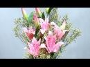 10.1: Làm hoa ly bằng giấy nhún - Chia sẻ link QC kiếm tiền