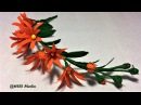 How to make an easy origami crepe paper flower/diy paper flower step by step tutorials/paper crafts