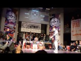 Kozo vs Emjay - Popping Semifinal - Vilnius Street Battles'15